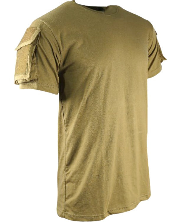 Tactical t-shirt-Coyote  Clothing Kombat UK - The Back Alley Army Store