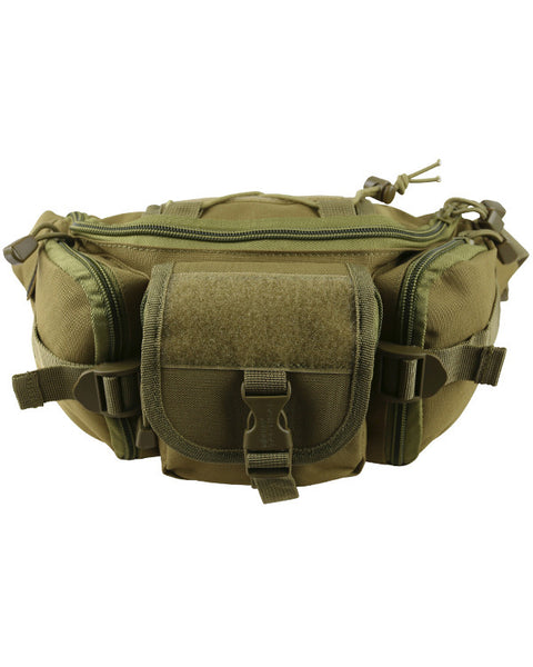 Tactical Waist Bag 3ltr-Coyote  Bag Kombat UK - The Back Alley Army Store