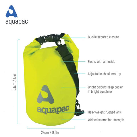 Trailproof drybag-15 litre  Bag Aquapac - The Back Alley Army Store