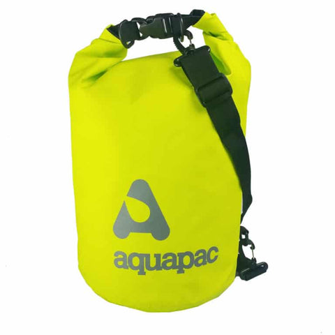 Trailproof drybag-15 litre ACID GREEN Bag Aquapac - The Back Alley Army Store