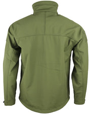 Trooper softshell sharkskin-Olive green
