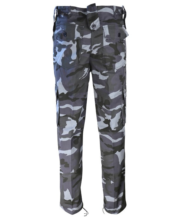 Kombat trouser-Midnight blue camo combats