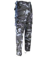 Kombat trouser-Midnight blue camo combats,
