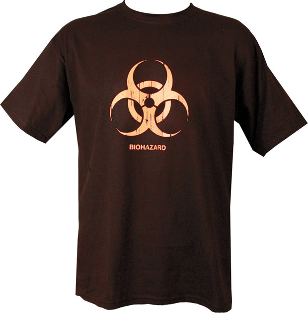 Biohazard T-shirt Black / S Clothing Kombat UK - The Back Alley Army Store