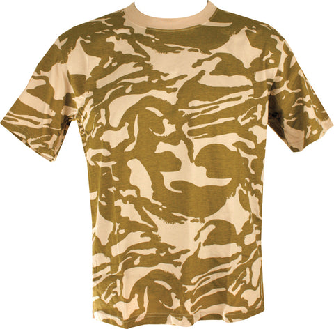 Desert T-shirt - DPM Desert DPM / S Clothing Sourced by Back Alley - The Back Alley Army Store