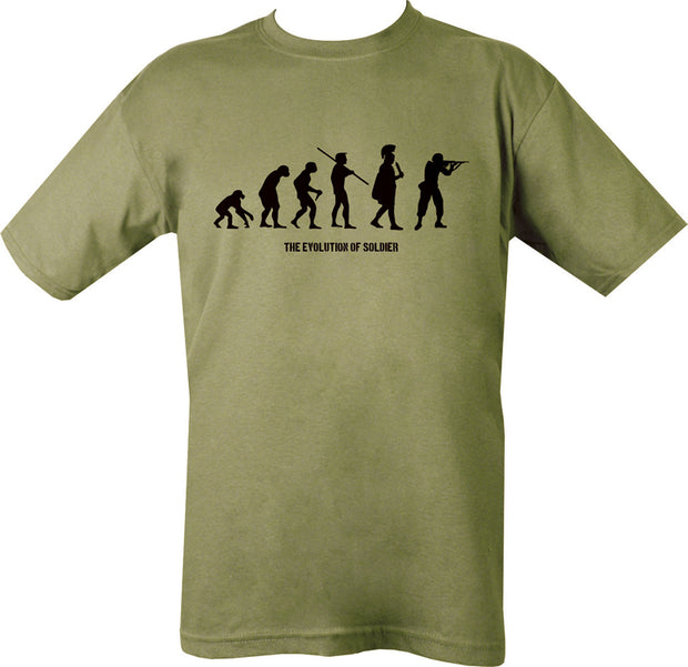Evolution T-shirt  Clothing Kombat UK - The Back Alley Army Store