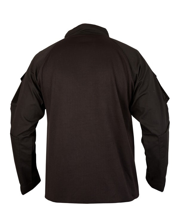 UBACS Tactical fleece-Black airsoft tactical clothing long sleeve thermal