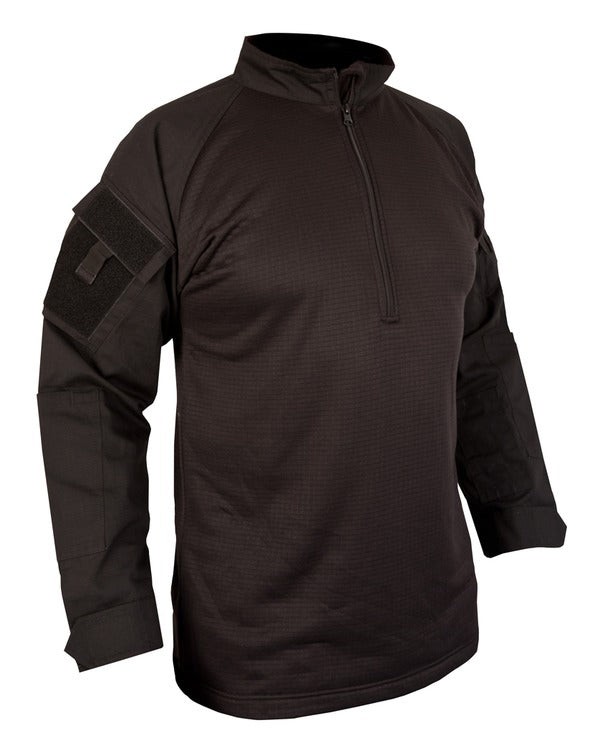 UBACS Tactical fleece-Black  Clothing Kombat UK - The Back Alley Army Store