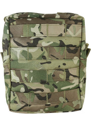 large molle compatible btp british camo pouch