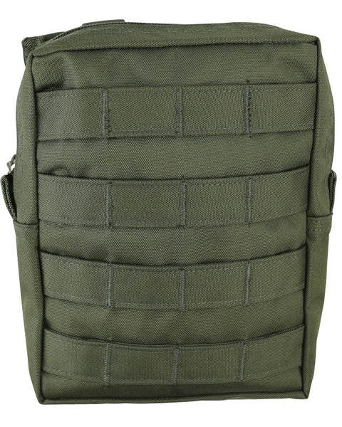 Molle utility pouch-Large OLIVE Airsoft Kombat UK - The Back Alley Army Store