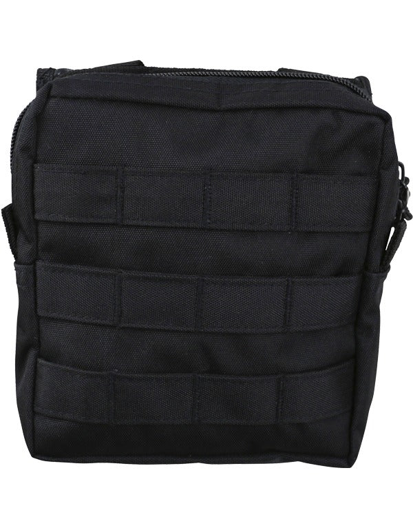 Molle utility pouch-medium-Black