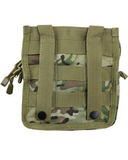 btp british camo medium airsoft utility pouch