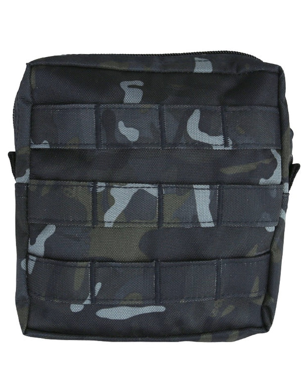 medium molle utility pouch btp black camo kombat uk
