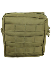 medium molle utility pouch coyote brown desert tan