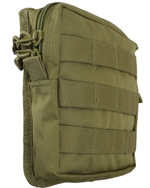 medium molle utility pouch coyote brown tan desert