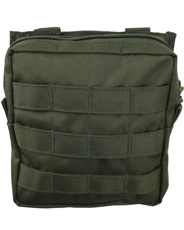 medium molle utility pouch og od kombat uk airsoft pouch