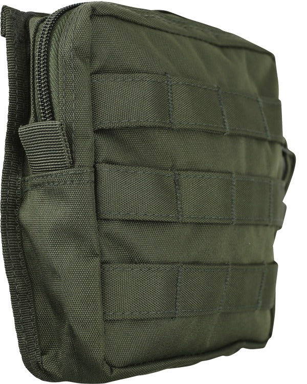 medium molle utility pouch olive green od og kombat uk