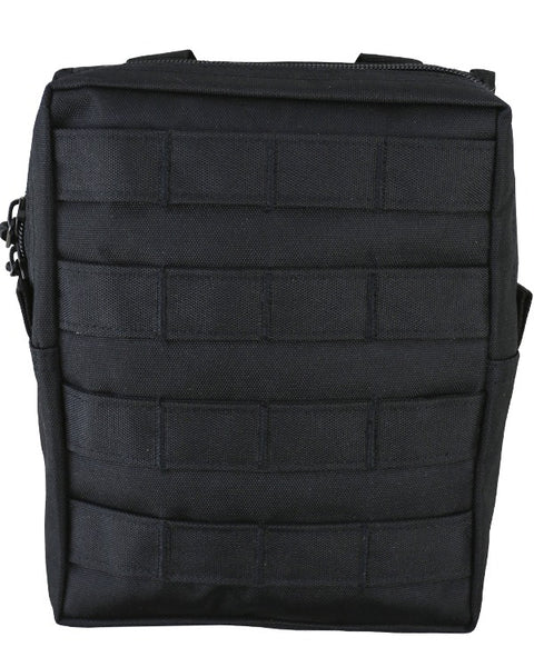 Molle utility pouch-Large BLACK Airsoft Kombat UK - The Back Alley Army Store
