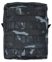 Molle utility pouch-Large BTP BLACK Airsoft Kombat UK - The Back Alley Army Store