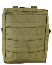 Molle utility pouch-Large COYOTE Airsoft Kombat UK - The Back Alley Army Store