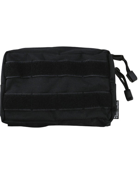 Molle utility pouch-small BLACK Airsoft Kombat UK - The Back Alley Army Store