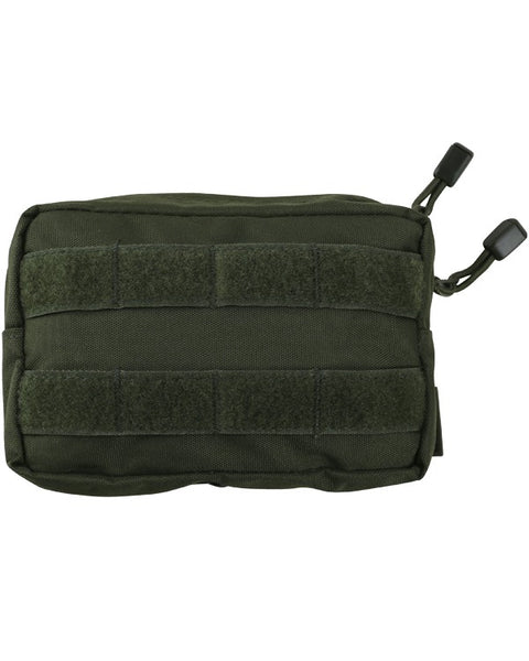 Molle utility pouch-small OLIVE Airsoft Kombat UK - The Back Alley Army Store
