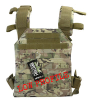 Spartan plate Carrier- Btp british camo tactical airsoft lightweight plate carrier