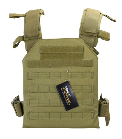 Spartan plate Carrier- coyote brown tactical airsoft lightweight plate carrier