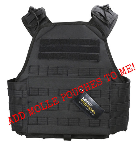 Viking Molle Platform- Black