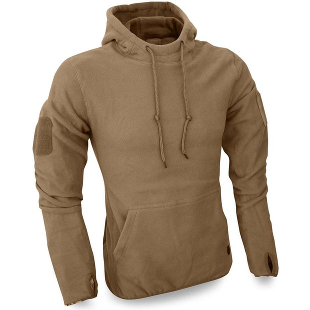 viper tactical fleece hoodie coyote brown
