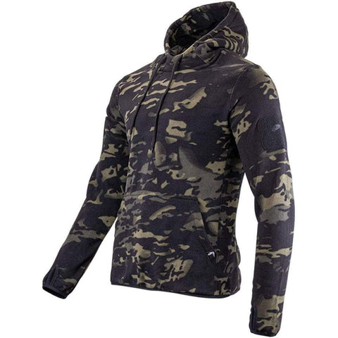 Viper-Fleece Hoodie S / Vcam Black Clothing Viper Tactical - The Back Alley Army Store