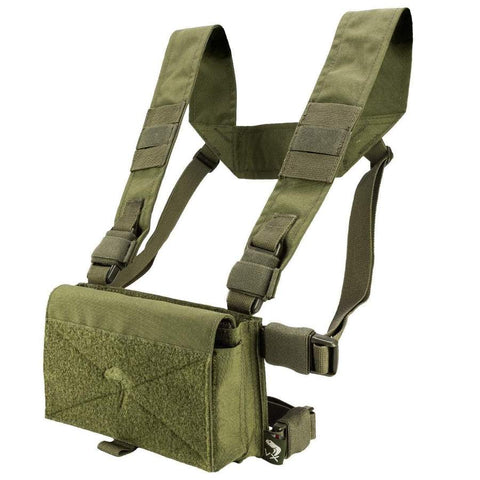 VX Buckle-Up utility rig OLIVE Airsoft Viper Tactical - The Back Alley Army Store