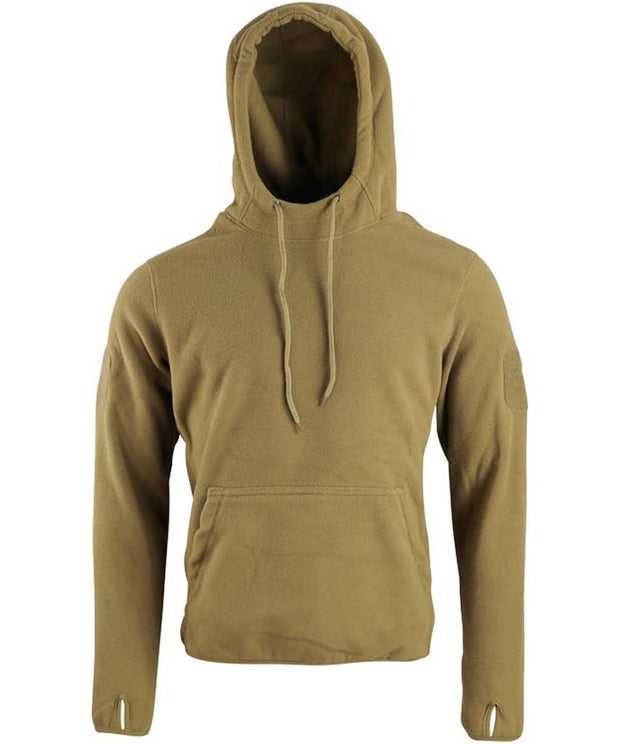Warrior hoodie-Coyote  Clothing Kombat UK - The Back Alley Army Store