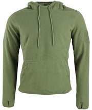 Warrior hoodie-Olive  Clothing Kombat UK - The Back Alley Army Store