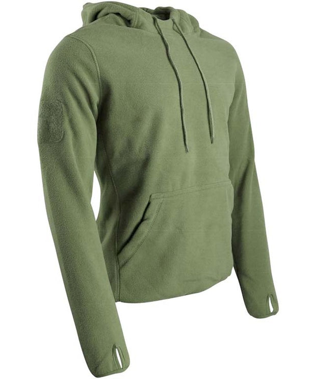 Warrior hoodie-Olive S / Olive Clothing Kombat UK - The Back Alley Army Store