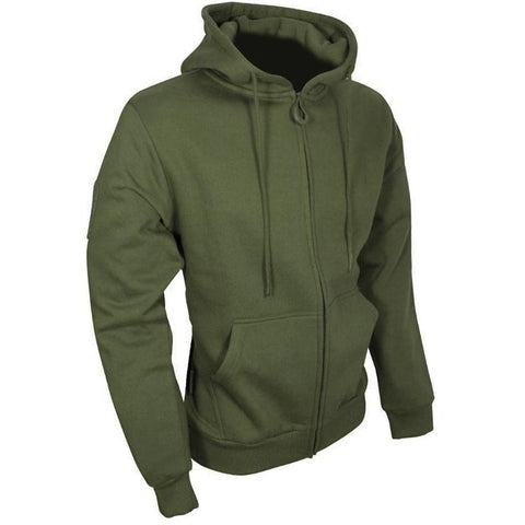 Viper-Tactical zipped hoodie S / Olive Clothing viper - The Back Alley Army Store