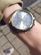 Load image into Gallery viewer, Watch A 21st Century Monarch | White Chronograph - 21st Century Watch21st Century Watch