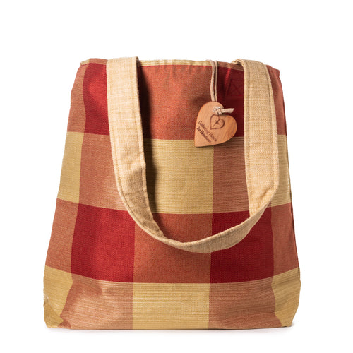 Tote Bag - Buffalo Check