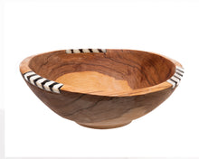 "Load image into Gallery viewer, Kenya - 6"" Round Wood Bowl, Kenya Africa"