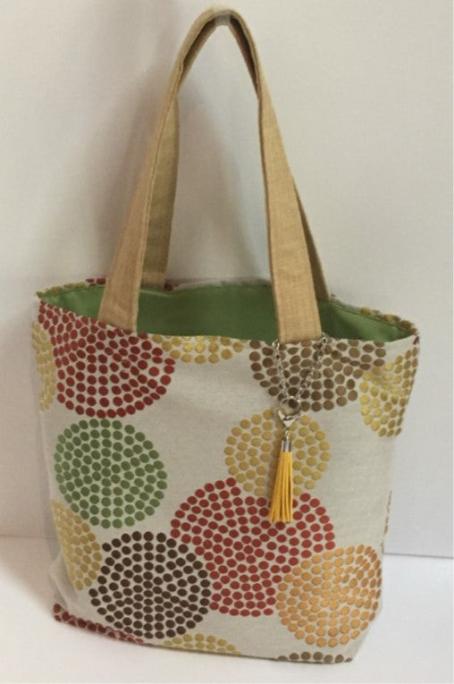 Bubble Dot Bag tote bag