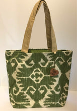 Load image into Gallery viewer, Tote Bag - Green Cateye