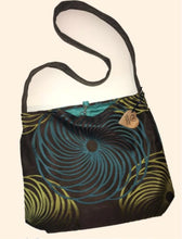 Load image into Gallery viewer, Tote Bag - Spirograph Cross Body Tote Bag
