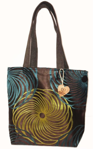 Tote Bag - Spirograph Double Strap Tote Bag