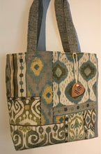 Load image into Gallery viewer, Tote Bag - Summer Quilt  Tote Bag