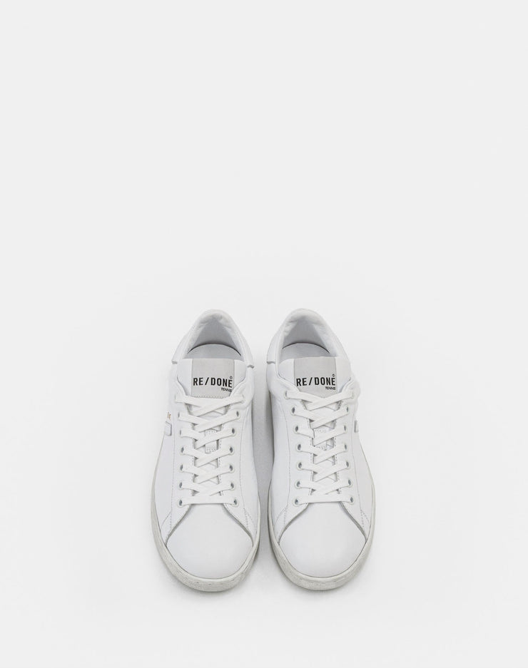 70s Tennis Shoe - White