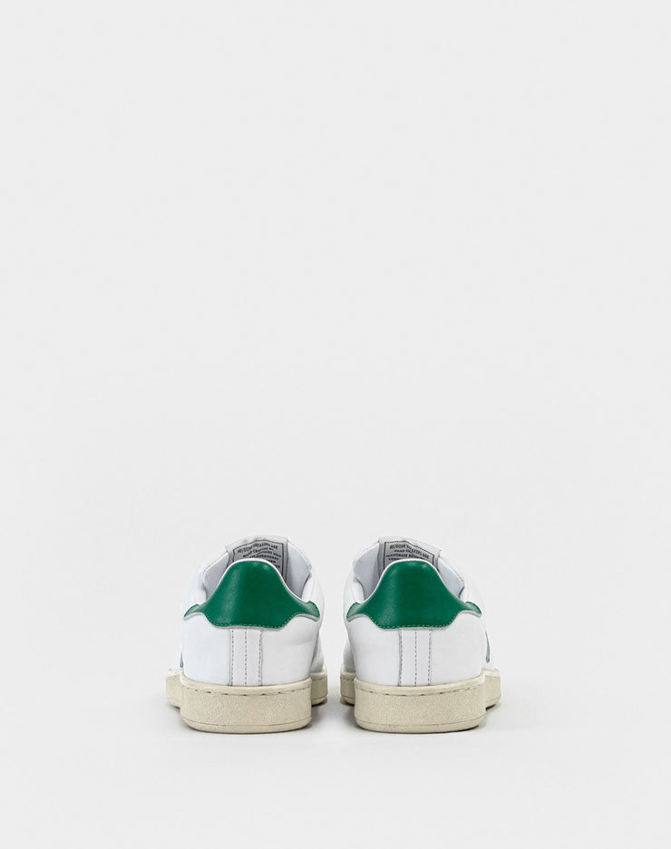 70s Tennis Shoe - White and Green
