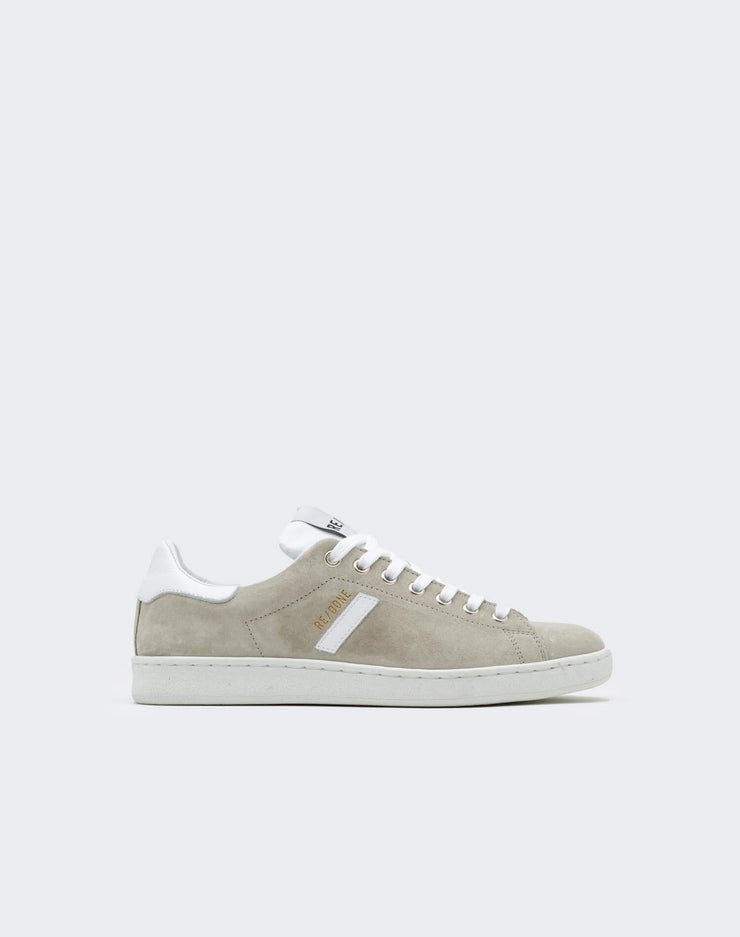 70s Tennis Shoe - Grey and White