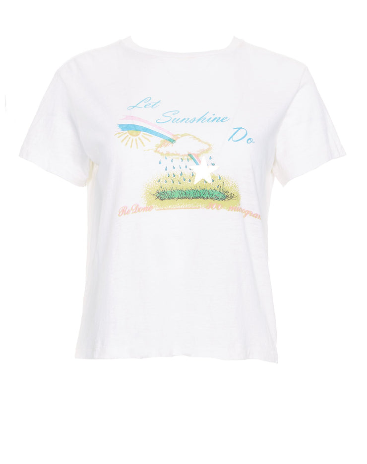 LSD Graphic Tee - Vintage White