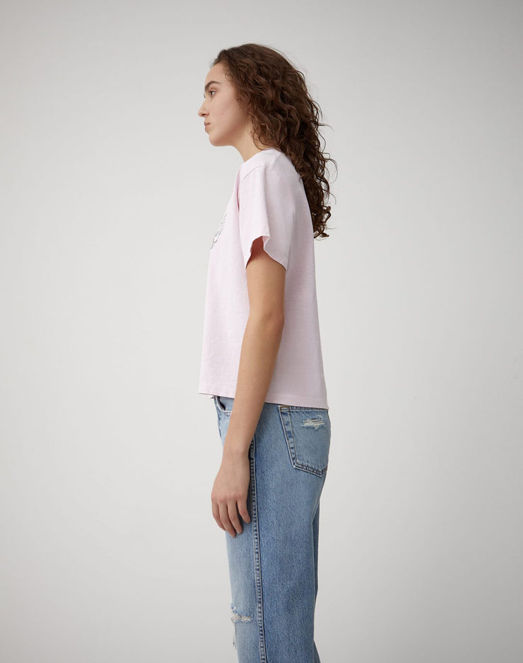 "Ex Boyfriend Tee ""Speed Demon"" - Pale Pink"