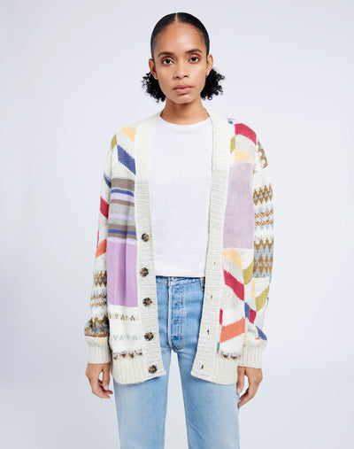 90s Upcycled Oversized Cardigan